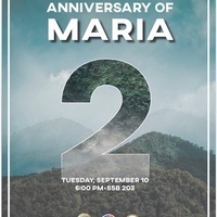 Anniversary of Hurricane Maria