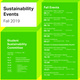 Sustainability Information Tabling