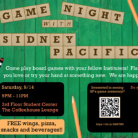 Game Night with Sidney Pacific