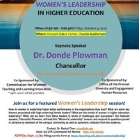 Women's Leadership in Higher Education