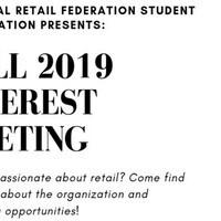 NRFSA Welcome Back + Interest Meeting