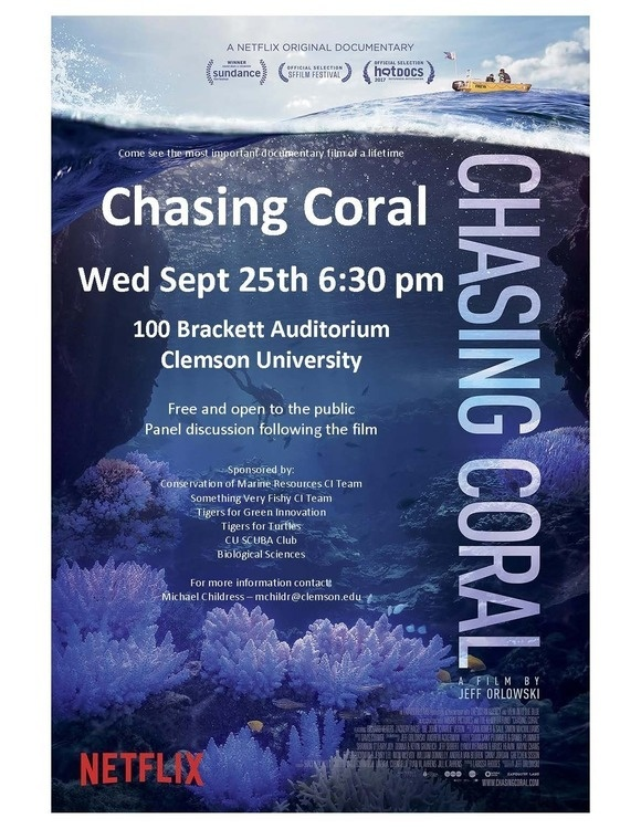 Showing of Chasing Coral Documentary Film