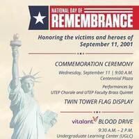 UTEP 9/11 Commemoration Ceremony