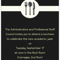 A&PS New and Returning Staff Luncheon