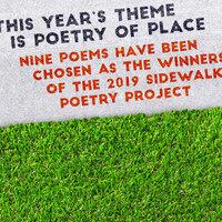 Sidewalk Poetry Dedication Ceremony