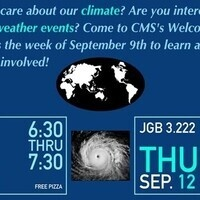 Climate and Meteorology Society Fall Info Meeting