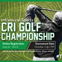 CRI Golf Championship Registration