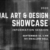 Visual Art & Design Showcase - Info session