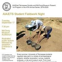 AIA/ETS Student Fieldwork Night