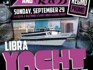 THE 90'S HIP HOP | R&B LIBRA YACHT BASH