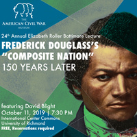 24th Annual Bottimore Lecture: Frederick Douglass's 'Composite Nation' 150 Years Later