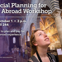 Study Abroad: Financial Planning Workshop