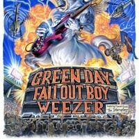 GREEN DAY, FALL OUT BOY, AND WEEZER