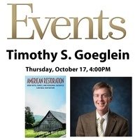 Timothy S. Goeglein Book Signing