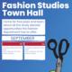Fashion Studies Town Hall (September)