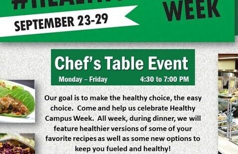 Healthy Campus Week