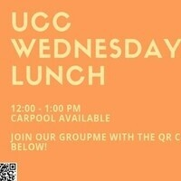 UCC—Wednesday Lunch