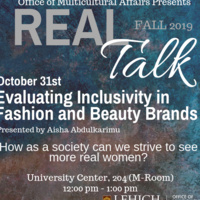 Real Talk Series - Evaluating Inclusivity in Fashion and Beauty Brands | Multicultural Affairs