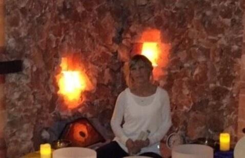 Crystal & Tibetan Bowl Sound Meditation in the Salt Cave