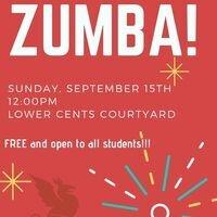 Outdoor Zumba September 15th