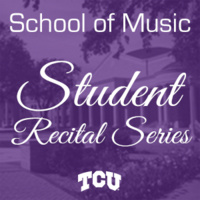 Student Recital Series: Reagan Hall, percussion.