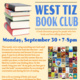 West Tiz Book Club