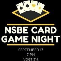 NSBE Card Game Night