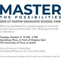 2019 UT Austin Graduate School Fair