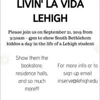 Livin' La Vida Lehigh   Community Service