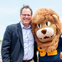 Family Weekend: BBQ Buffet with President Mark Rudin