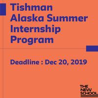Tishman Alaska Summer Internship