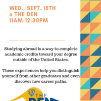 Study Abroad Table