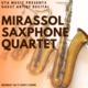 Guest Artist Recital: Mirassol Saxophone Quartet