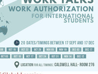 Work Talks - Work Authorization for International Students