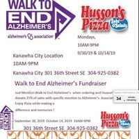 Walk to End Alzheimer's  Husson's KC Fundraiser