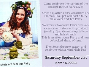 Fairy Equinox party / Downton Abbey Release party