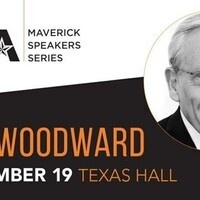 Maverick Speaker Series: Bob Woodward