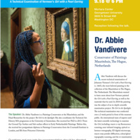 Vermeer's Girl with a Pearl Earring - Conservator Abbie Vandivere