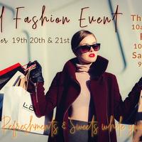 Annual Fall Fashion Event