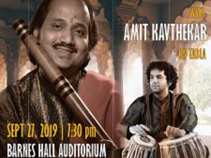 Indian Classical Flute Concert featuring Grammy nominated Pt. Ronu Majumdar