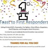 Toast to First Responders