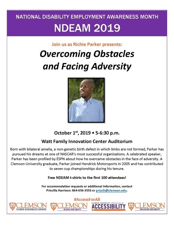 Overcoming Obstacles and Facing Adversity: NDEAM 2019