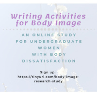 Writing Activities for Body Image Research Study Fall 2019