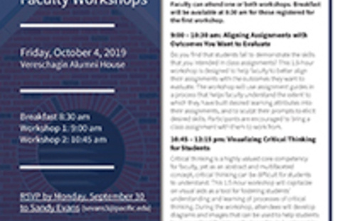University Assessment Committee Faculty Workshops