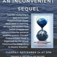 Film Screening: An Inconvenient Sequel