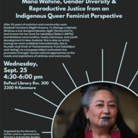 Not Only Women Get Pregnant: Gender Diversity and Reproductive Justice from an Indigenous Queer Feminist Perspective