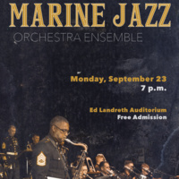 Guest Artist Series: Marine Jazz Orchestra Ensemble.