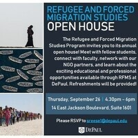 Refugee and Forced Migration Studies Open House