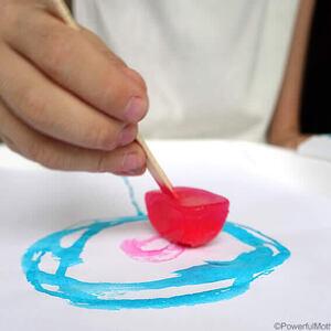 Ice Painting Workshop