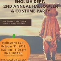 Second Annual Halloween & Costume Party